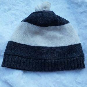 Crewcuts Girls' Rugby-Stripe Hat XL Wool